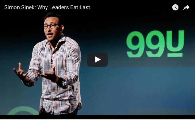 Simon Sinek – leaders eat last – 45 min