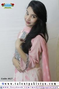 Talent Pakistan Female Model Code 17