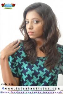 Talent Pakistan Female Model Code 20