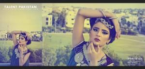 komal khan brand shoot