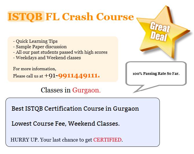 ISTQB Training in Gurgaon