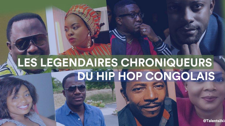 [CHRONIQUE DE BOB ELVIS N°7 ] : Les légendaires chroniqueurs du Hip Hop Congolais.