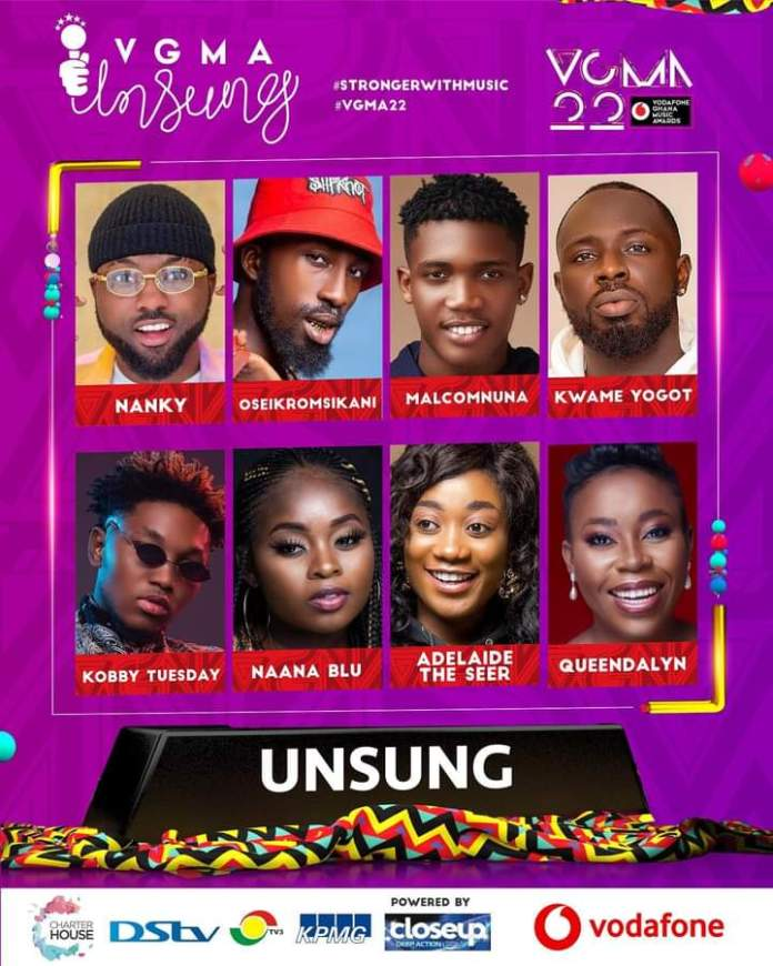 FB IMG 1617455262292 Final List Of Nominees For VGMA 2021- 22nd Edition