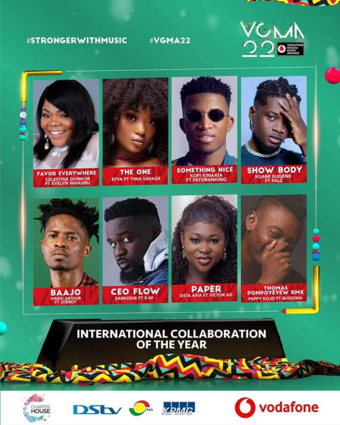 FB IMG 1617468863997 Final List Of Nominees For VGMA 2021- 22nd Edition