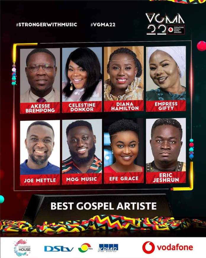 FB IMG 1617483406125 Final List Of Nominees For VGMA 2021- 22nd Edition