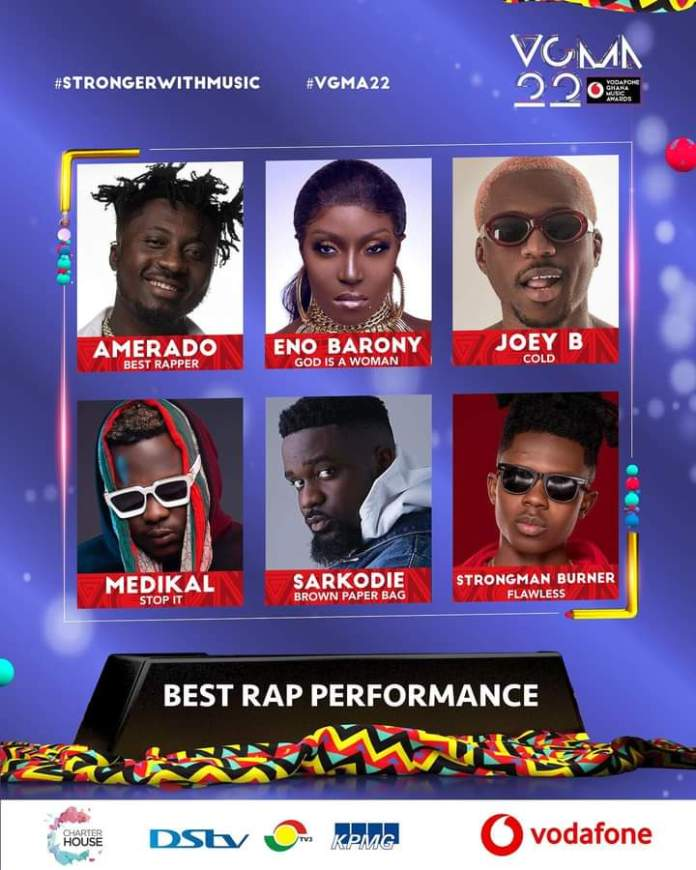 FB IMG 1617483421165 Final List Of Nominees For VGMA 2021- 22nd Edition