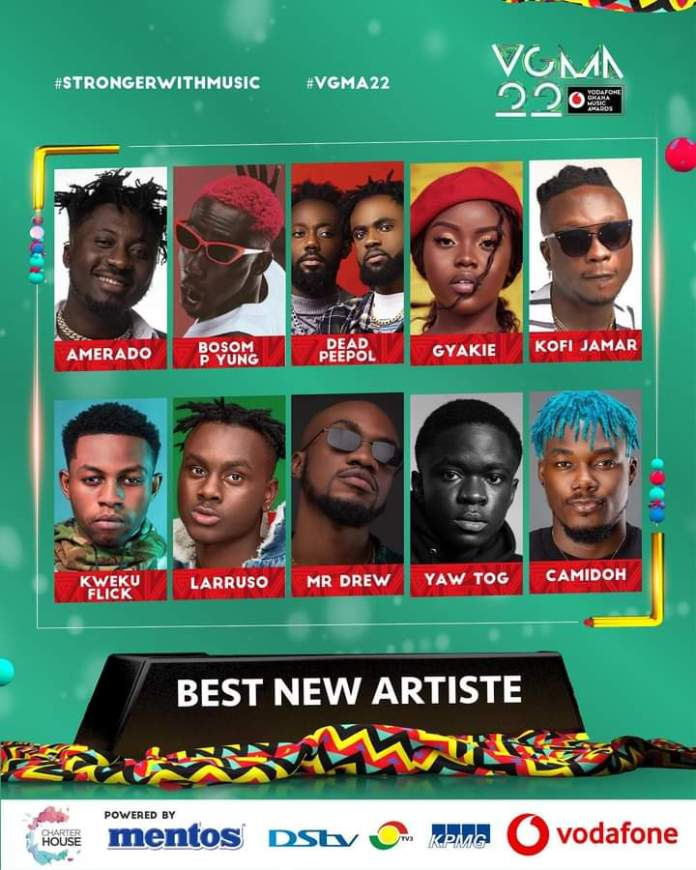 FB IMG 1617483460532 Final List Of Nominees For VGMA 2021- 22nd Edition