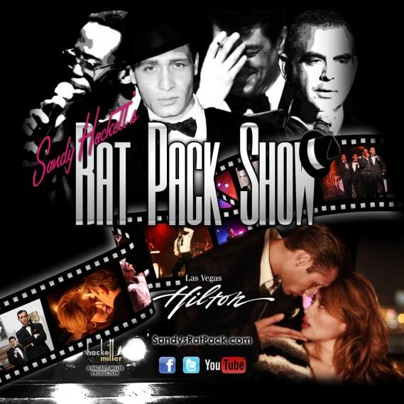 Sandy Hackett's Rat Pack Show flyer