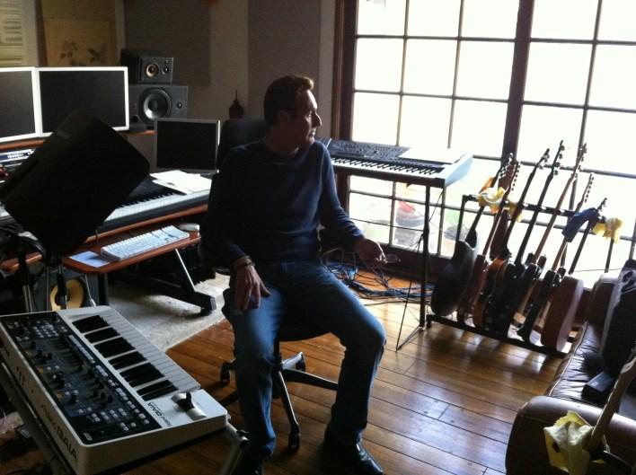 Martin Page studio pic