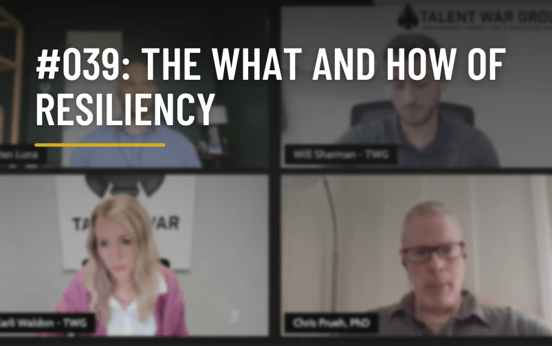 #039: The What and How of Resiliency