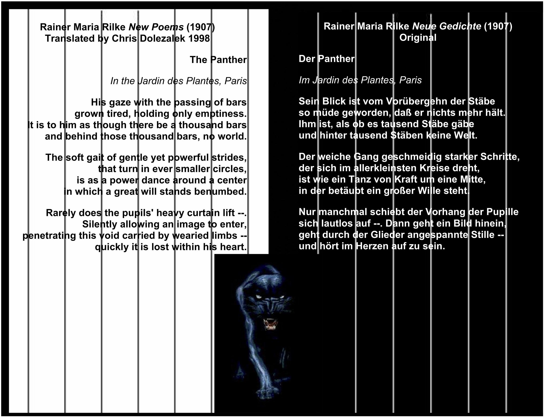 Rainer Maria Rilke New Poems - 1907