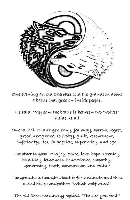 Yin Yang Wolf 4