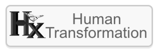Human Transformation Gray Button