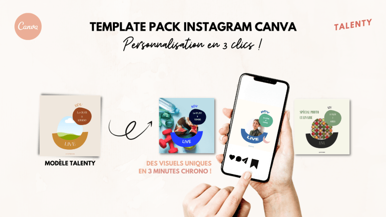 Template pack Canva - Collection Inspi - Instagram