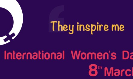 They inspire me – International Women's Day