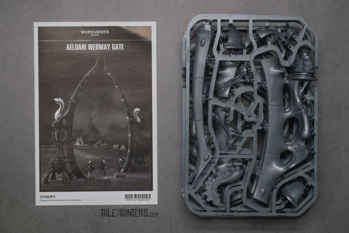 Review: Aeldari / Eldar Webway Gates contents