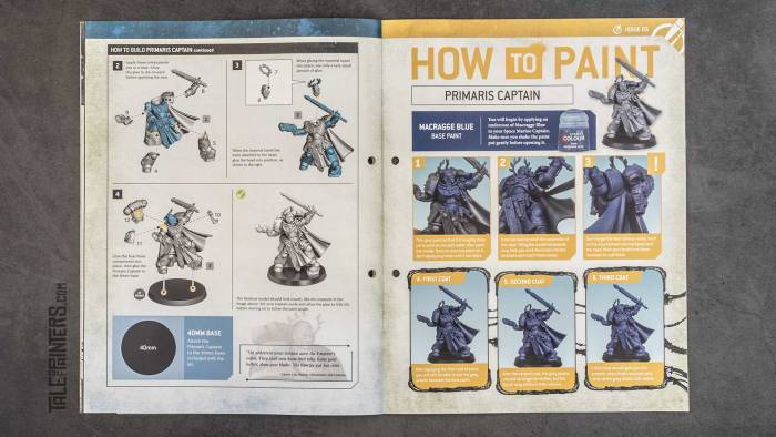 Warhammer 40.000: Imperium Issue 5 Assembly page