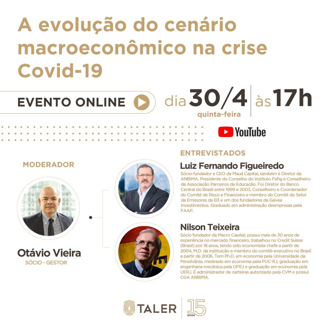 A evolução do cenário macroeconômico na crise Covid-19