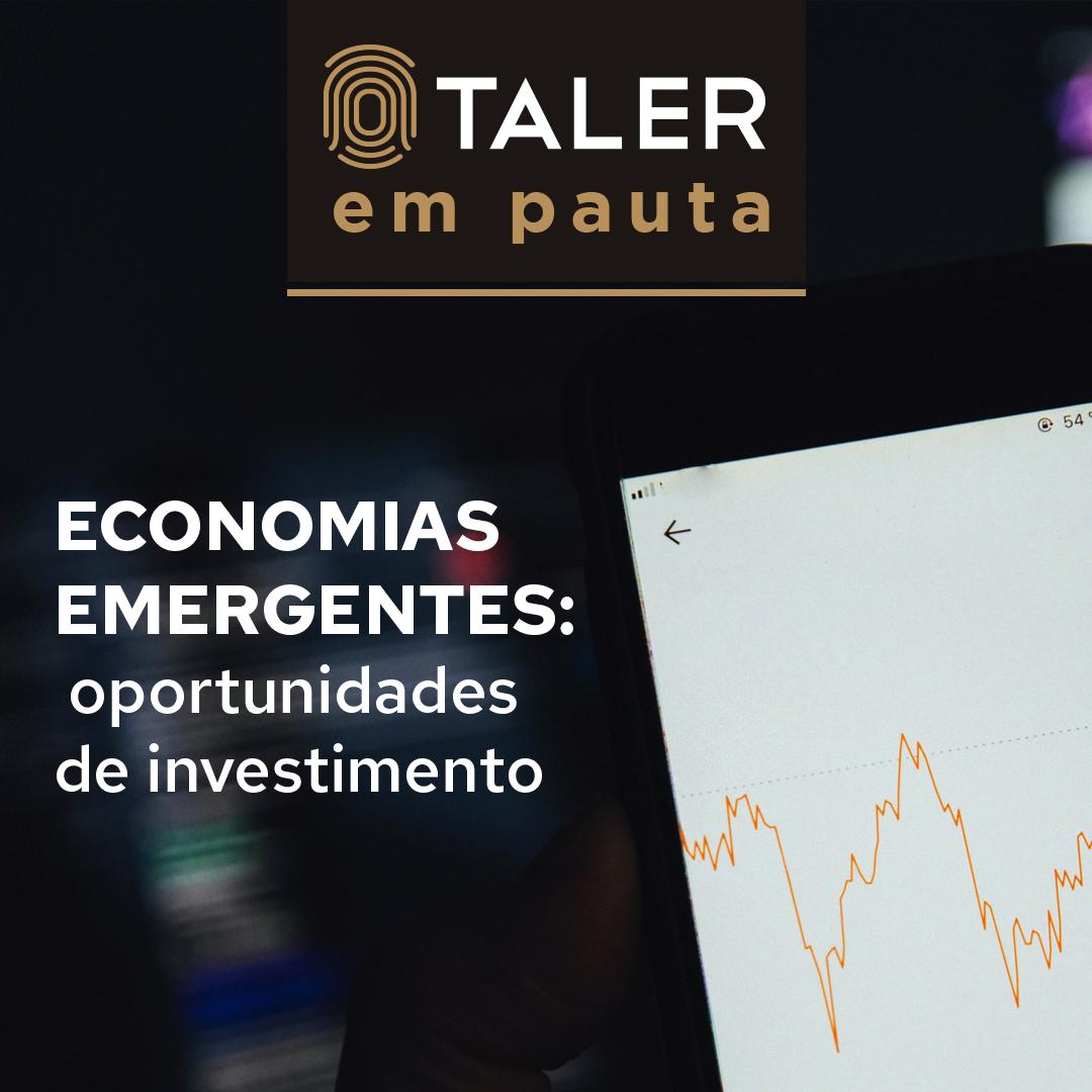 Economias emergentes: oportunidades de investimento