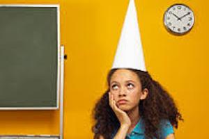 Inspiring story of girl once in dunce cap