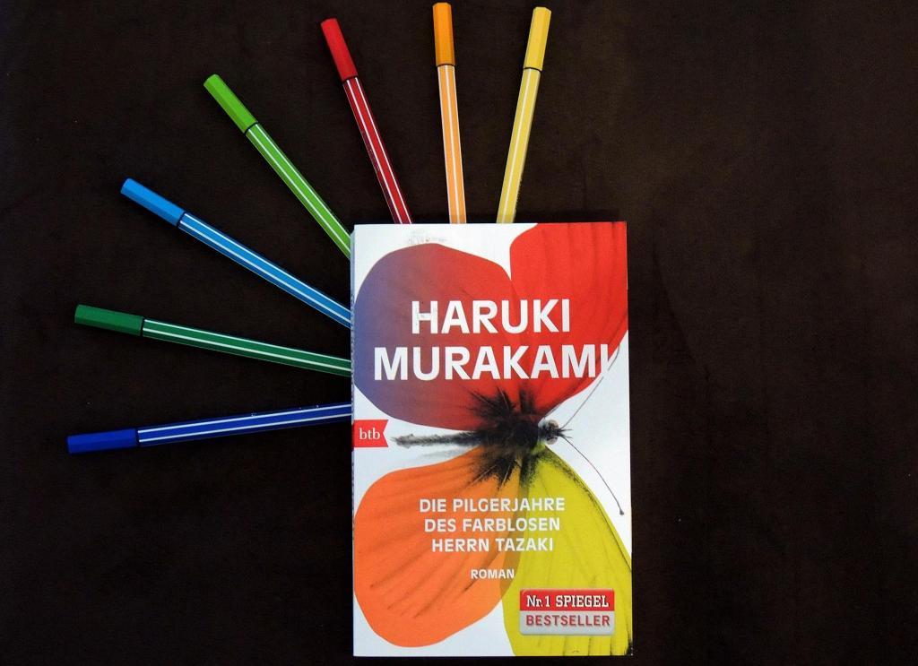 Haruki Murakami_Die Pilgerjahre des farblosen Herrn Tazaki