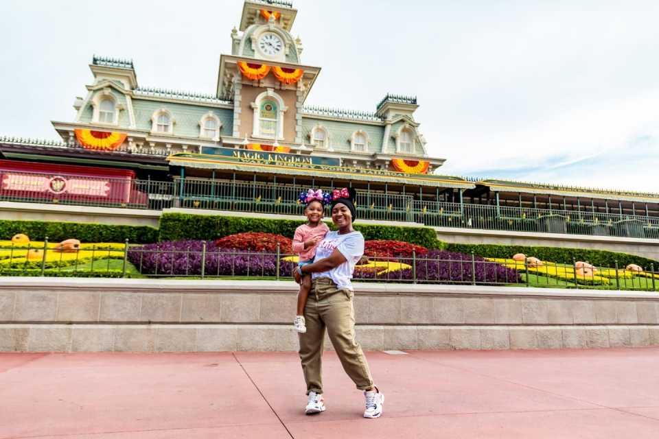Disney with family