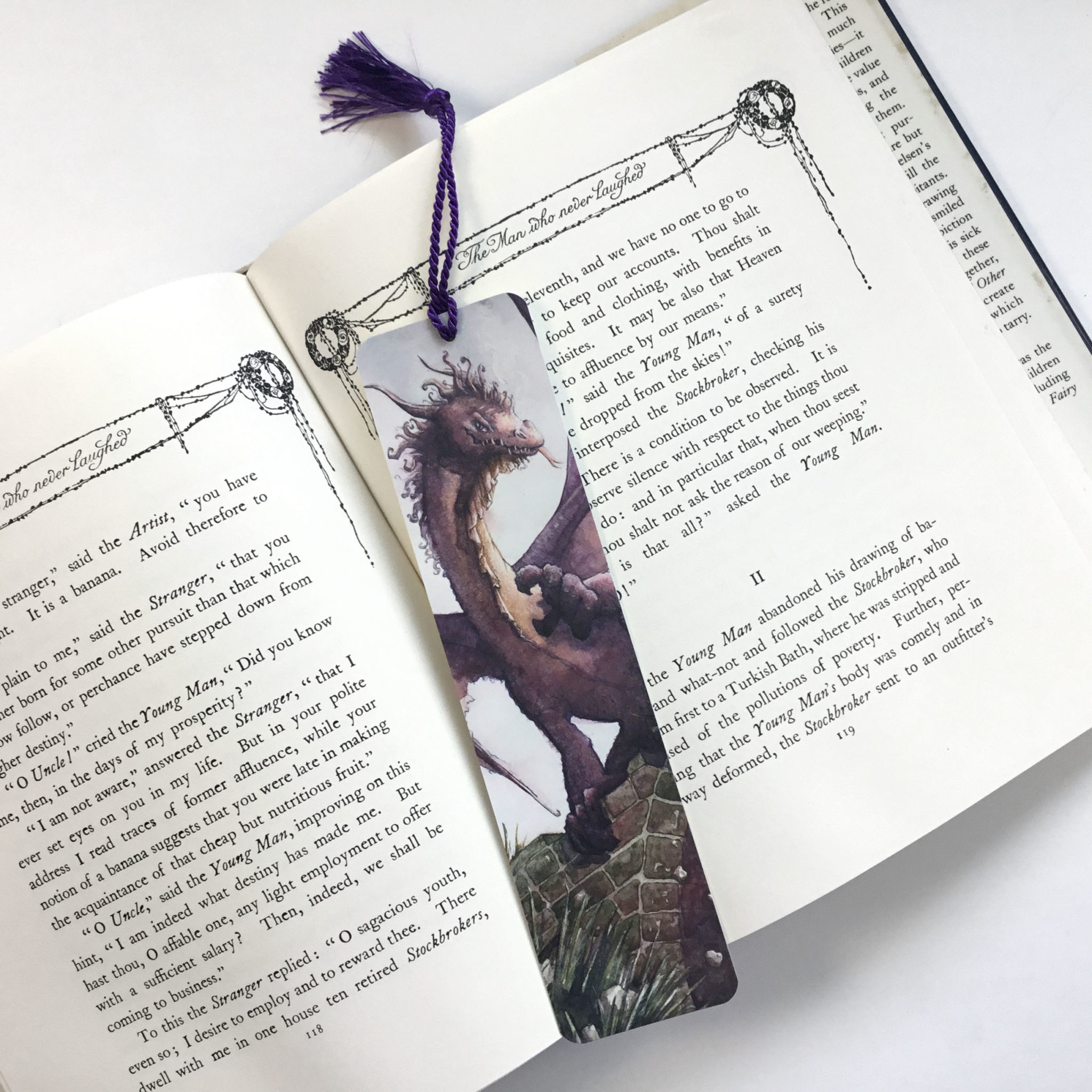 Princess and Dragon Bookmark