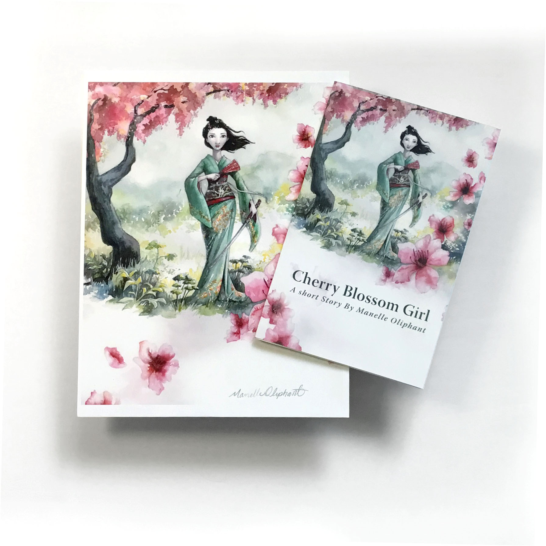 Cherry Blossom Girl Print and MiniBook