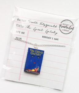Best Gifts for Book Lovers Book Necklace FromNewLeaf