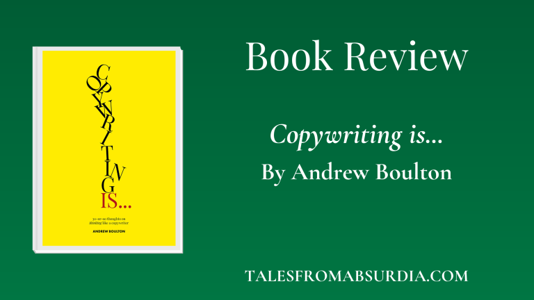 Copywriting is Andrew Boulton Book Review