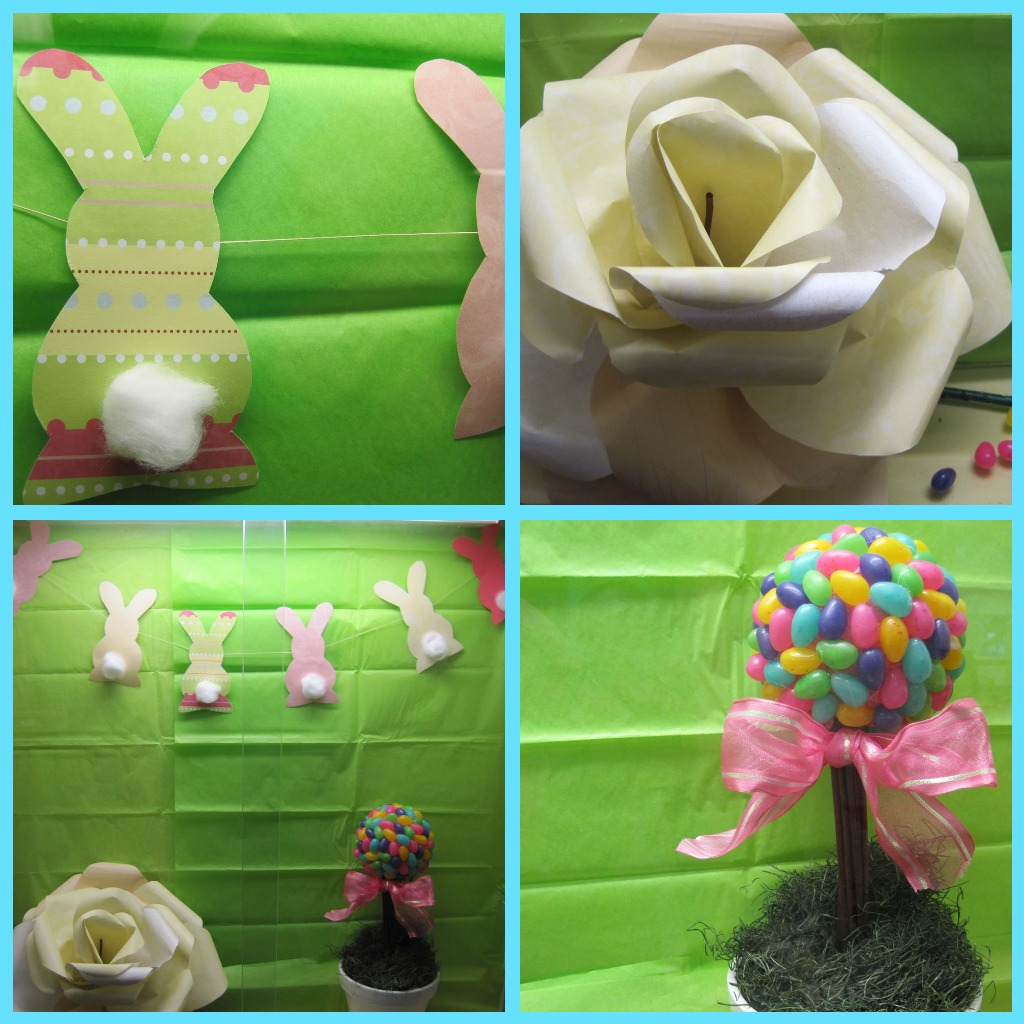 Easter Craft Display