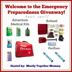 Emergency Preparedness Giveaway