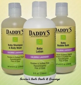 daddy & Co. baby bath products