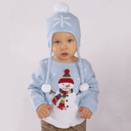 Zubels-Hand-Knit-Cotton-Sweater-Snowman-268x268
