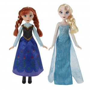 Disney Frozen Classic Fashion Doll (Anna & Elsa)
