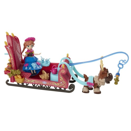 Disney Frozen Little Kingdom Playset Asst (Sleigh Ride)