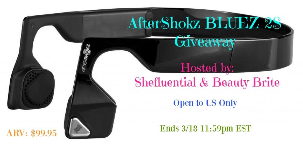 AfterShokz BLUEZ 2S Giveaway button
