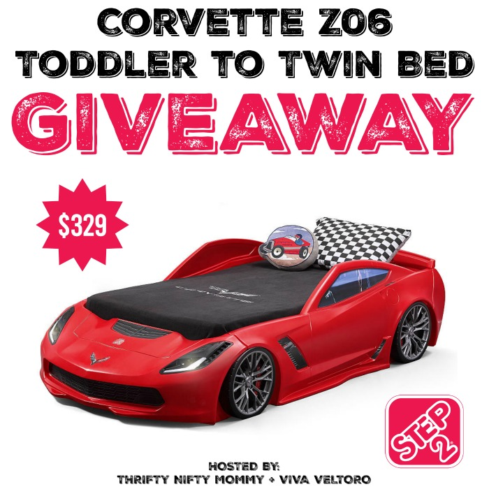 STEP2 CORVETTE GIVEAWAY