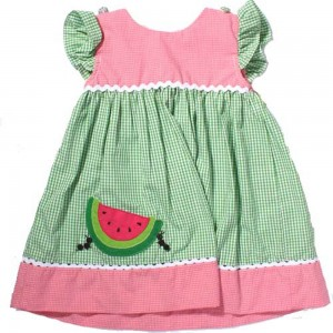 zu-baby-toddler-pink-ants-watermelon-applique-dress-300x300