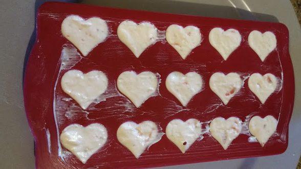 Strawberry heart fatbomb recipe. Heart Mold