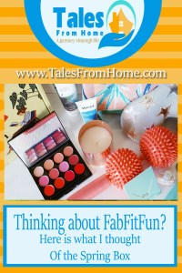 pinterest image for fabfitfun spring box review post