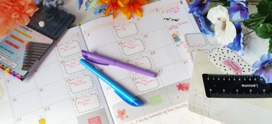 Tools for bullet journaling