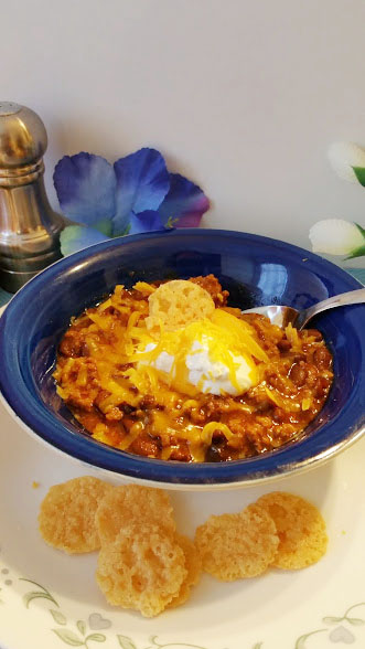 Bowl of Keto Chili