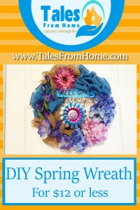 Spring wreath pin 1