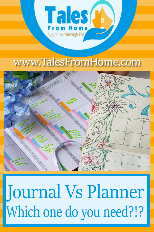 Journal vs Planner - which one do you need?