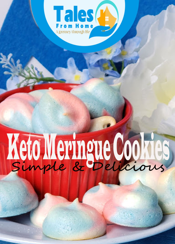 Delicious 5 ingredient Keto Meringue Cookies
