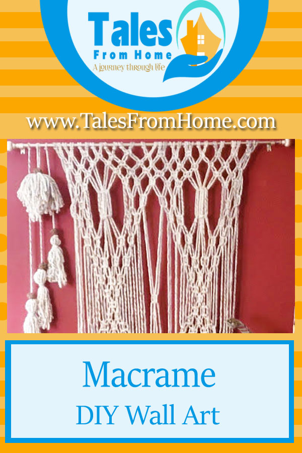 Macrame Wall art a great DIY project for your home