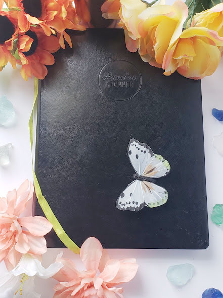 Organizing a blog using a daily planner