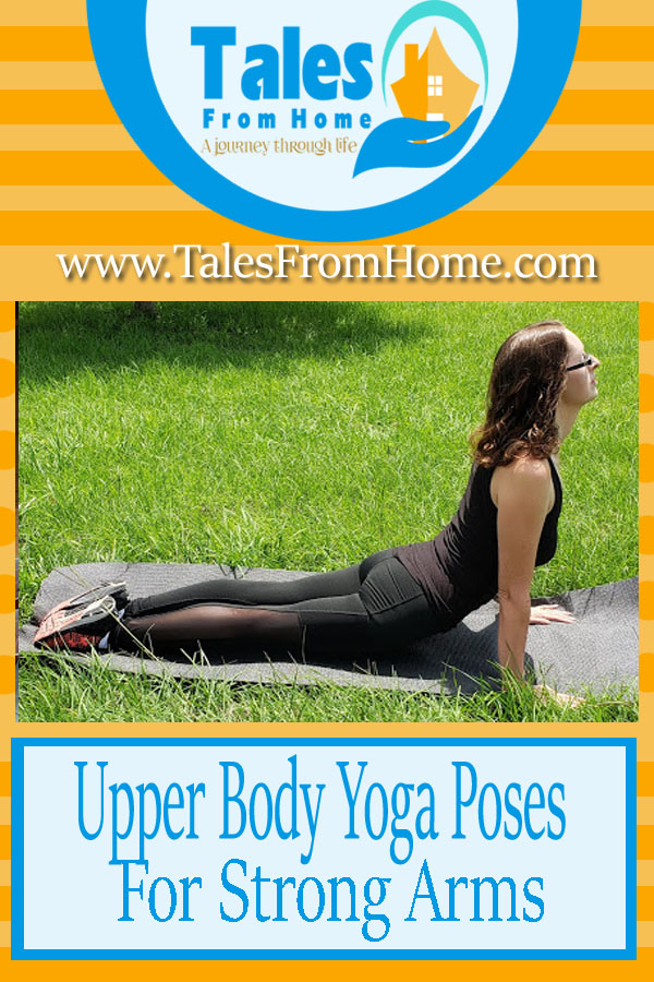 Upper Body Yoga Poses for Strong Arms #yoga #exercise #fitness #healthyliving