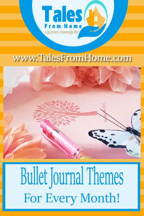 Bullet journal themes for every month! #bujo #bulletjournal #journaling #monthlythemes #planners